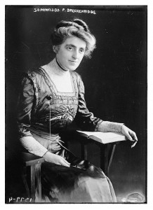 Sophonisba Preston Breckinridge, eminent social sciences educator in Chicago